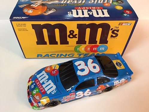 1999 Crispy M&M's Black Window Bank / Ernie Irvan 1:24 ST #4