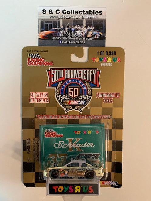 1998 APR Toy's R Us Gold Car / Ken Schrader 1:64  Box# 42