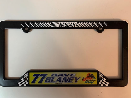 2002 Jasper Engines & Transmissions  License Frame / Dave Blaney Box# 95