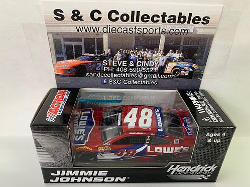 2016 Lowe's Red Vest / Jimmie Johnson 1:64