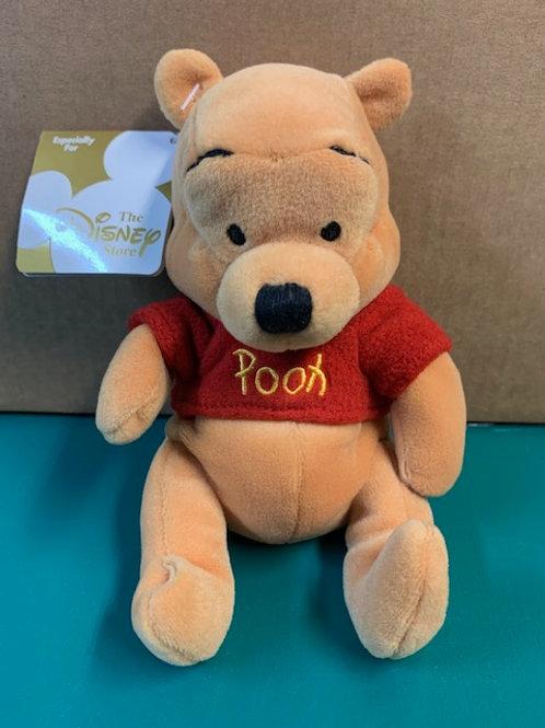 "Disney Beanies Willie the Pooh Pooh 8"""