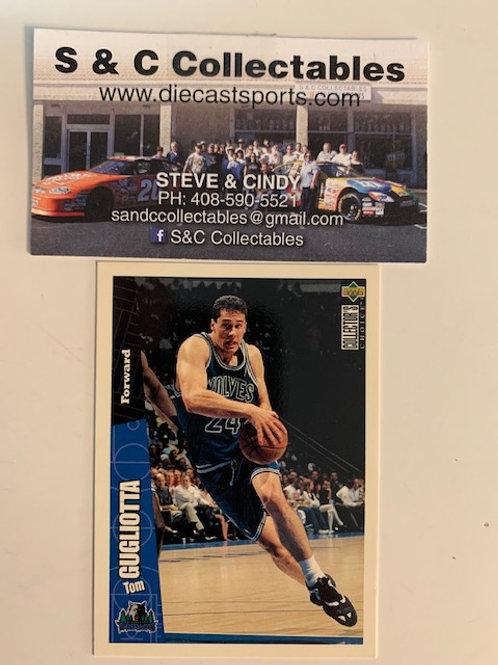1996-97 Upper Deck Tom Gugliotta Forward Card# 93/ Basketball-BK1