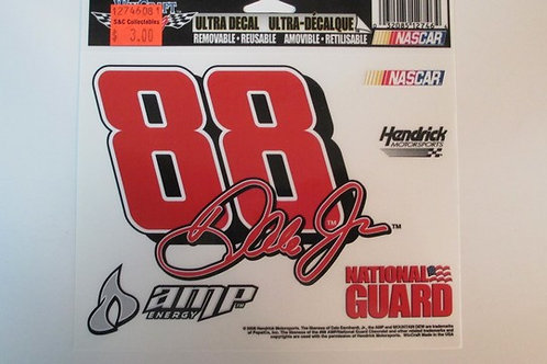 2017 Amp Energy Decal / Dale Earnhardt Jr. Decal #2