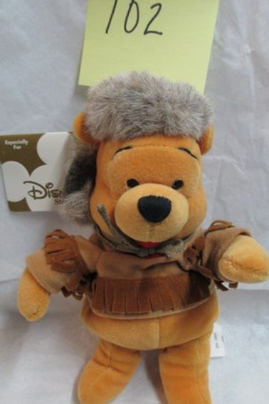 "Frontier Pooh 8"" / Disney Beanies"