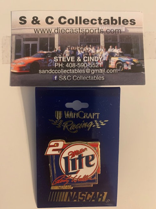 1998 Miller Lite Hat Pins / Rusty Wallace  Hat Pin #7