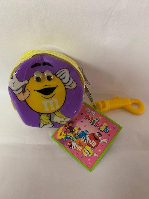 2003 M&M's Screaming Yellow Coin Purse / M&M Stuff Box# 99