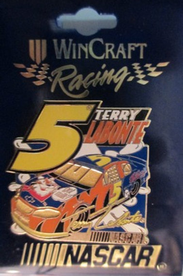 1999 Tony the Tiger Yellow #5 Hat Pins / Terry Labonte  Hat Pin #2