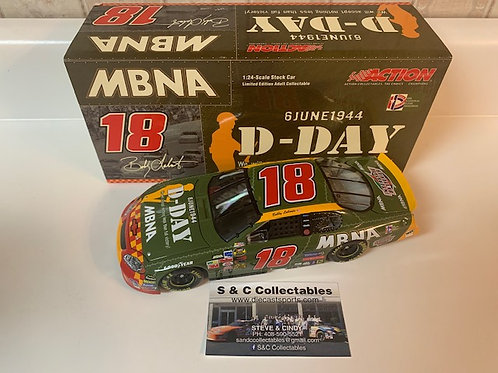 2004 D-Day 60th Anniversary / Bobby Labonte  1:24 Action #5