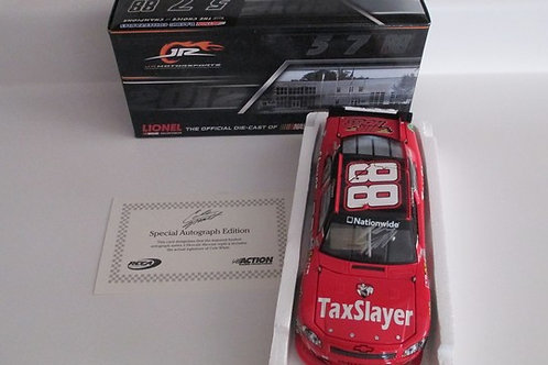 2012 Autographed TaxSlayer (Rookie Car)   / Cole Whitt 1:24  Wall