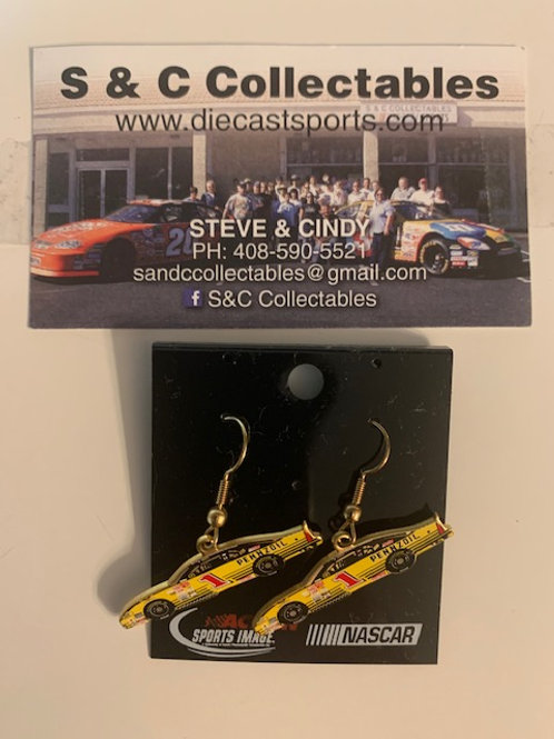 2003 Pennzoil Earrings / Steve Park  Hat Pit #5