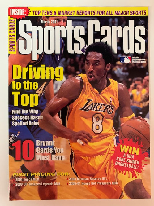 2001 TuffStuff Monthly Issue March  / Kobe Bryant / Basketball
