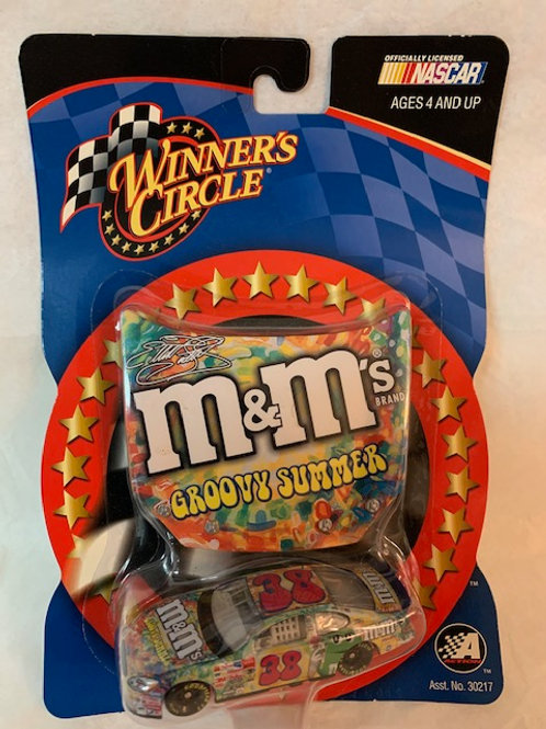 2003 M&M's -Groovy Summer Hood Magnet / Elliott Sadler 1:64 Box#14