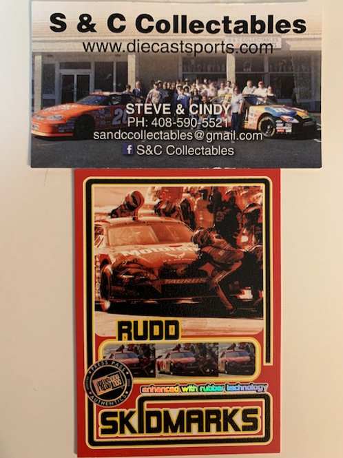 2005 Skidmarks with Race-Used Tire / Ricky Rudd  Box# FF