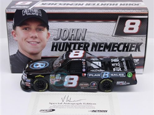 2017 Autographed Plan B Truck Series  / John Hunter Nemechek 1:24  Wall