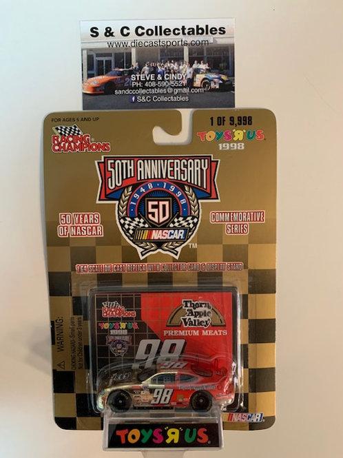 1998 Thorn Apple Valley Toy R Us Gold Car / Gary Sacks  1:64  Box# 42