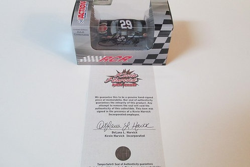 2011 Autographed Rheem Tankless Water Heaters / Kevin Harvick 1:64 Shelf# B