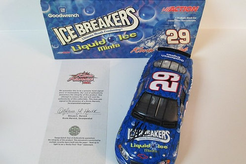 2004 Autographed   Liquid Ice / Kevin Harvick 1:24  Wall