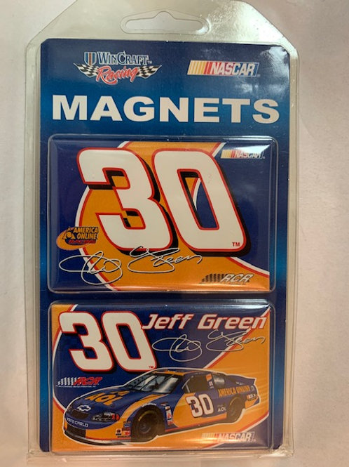 "2002-04 Two Pack Magnets 3"" X 2"" New /  Jeff Green   Corner Shelf  1"