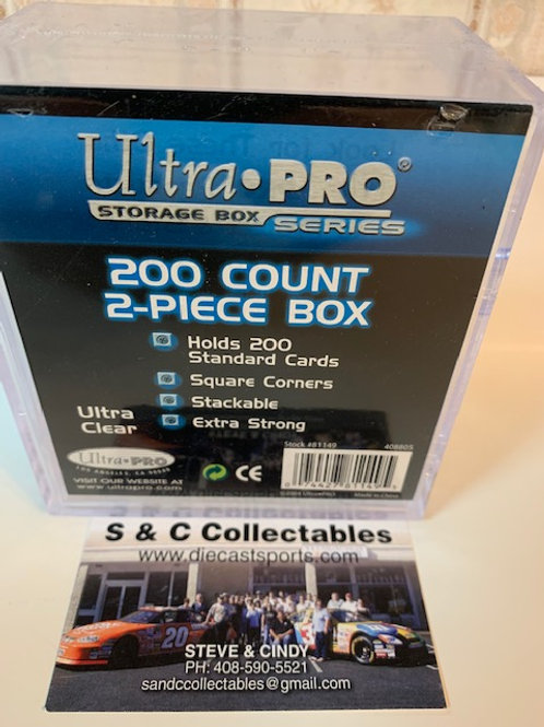 Ultra Pro 200 Count 2-Piece Box / Ultra Pro - Supplies