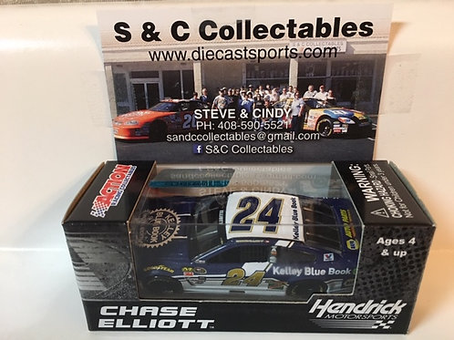 2016 Kelley Blue Book (Rookie Car) / Chase Elliott 1:64