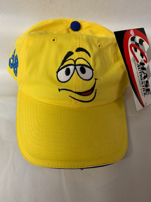 2003 M&M's Brand  Screaming Yellow Hat / Elliott Sadler Hat#38