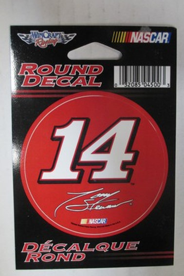 2009 Round Decal / Tony Stewart Decal #2
