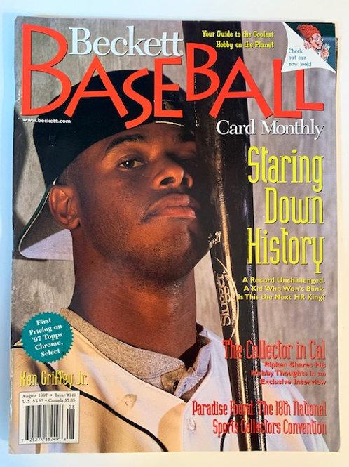 1997 Beckett Card Monthly Issue# 149 / Ken Griffey Jr.-Baseball