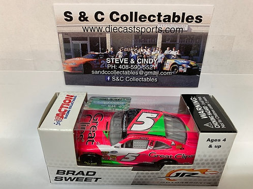 2013 Great Clips Pink / Brad Sweet 1:64