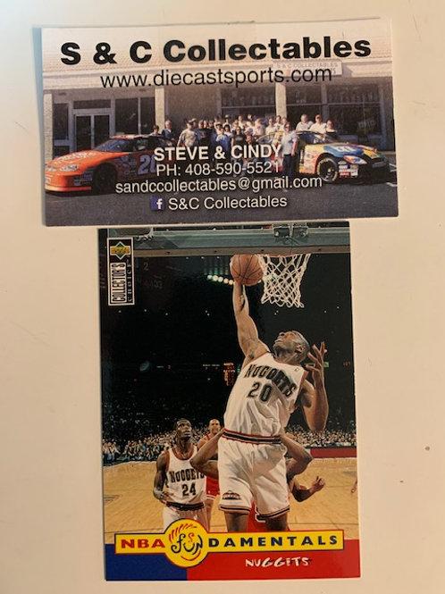 1996-97 Upper Deck LaPhonso Ellis  Card# 172  / Basketball--BK1