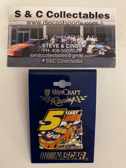 1999 Tony the Tiger Yellow #5 Hat Pins / Terry Labonte  Hat Pin #7