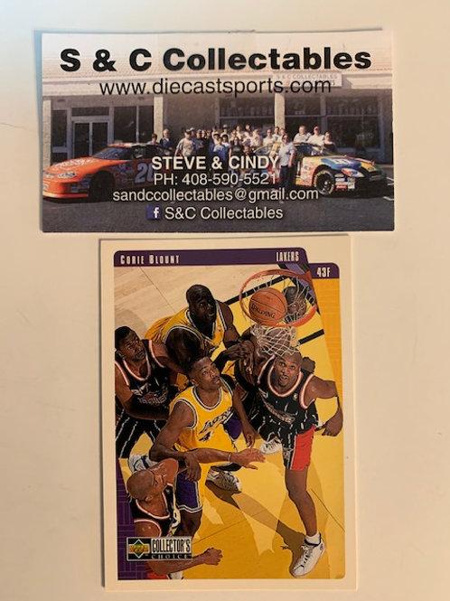 1997-98 Upper Deck Corie Blount Card# 66  / Basketball--BK1