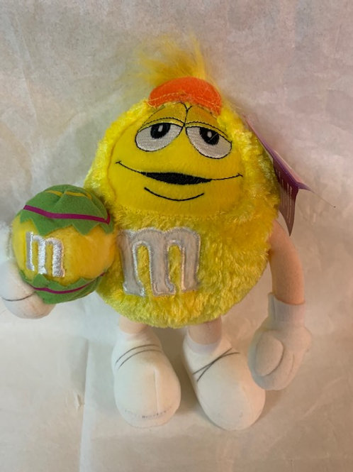 2003 M&M's Screaming Yellow  Easter with Egg  / M&M Stuff Box#1
