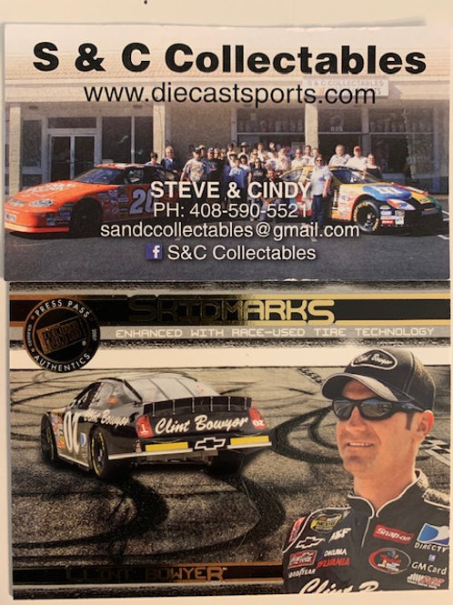 2007 Enhanced with Race-Used Tire Technology  / Clint Bowyer  Card