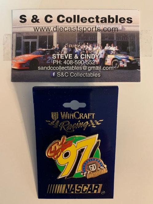 1998 NASCAR 50th 1948-1998 Hat Pins / Chad Little  Hat Pit #5