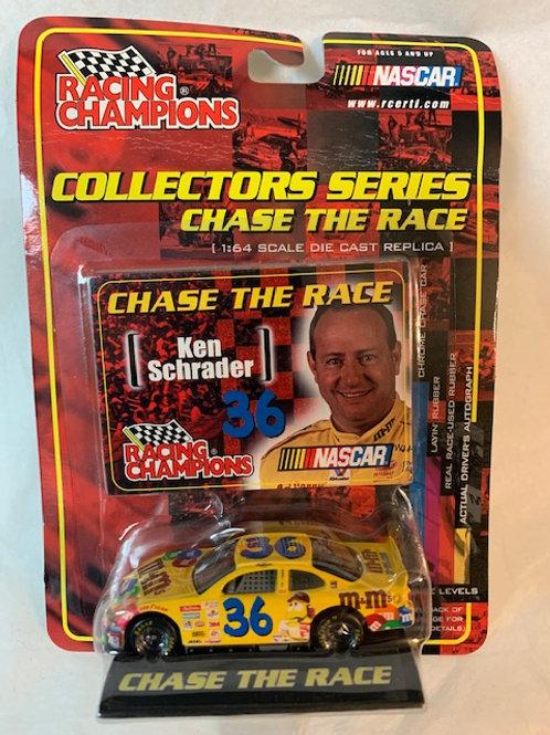 2001 M&M's Chase the Race  / Ken Schrader 1:64 Box#36