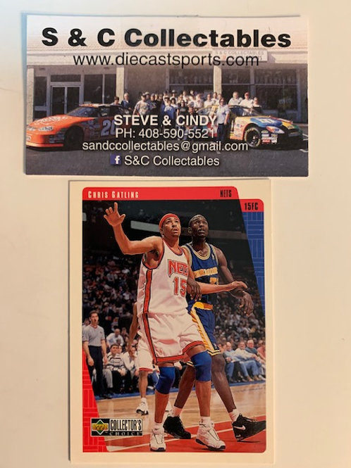 1997-98 Upper Deck Chris Gatling Card# 89  / Basketball--BK1