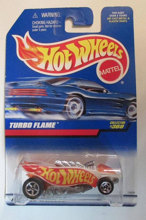 1997 Turbo Flame / Hot Wheels 1:64  Peg