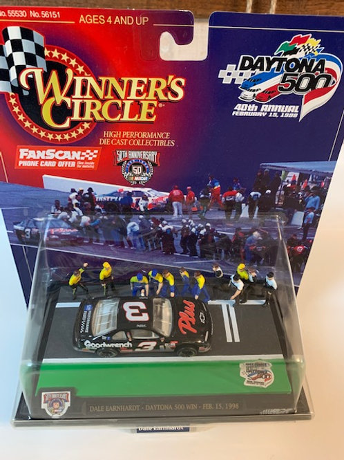 1998 GM Goodwrench Plus Daytona Pit Row / Dale Earnhardt Sr. 1:64  Peg