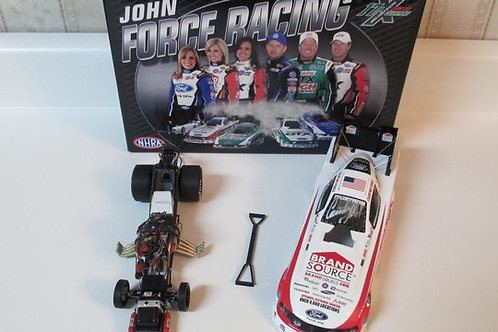 2011 Autographed BrandSource  Funny Car / Courtney Force 1:24  Shelf A