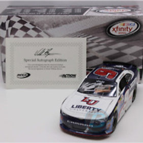 2017 Autographed Liberty University Indy Raced Win / William Byron 1:24  Wall