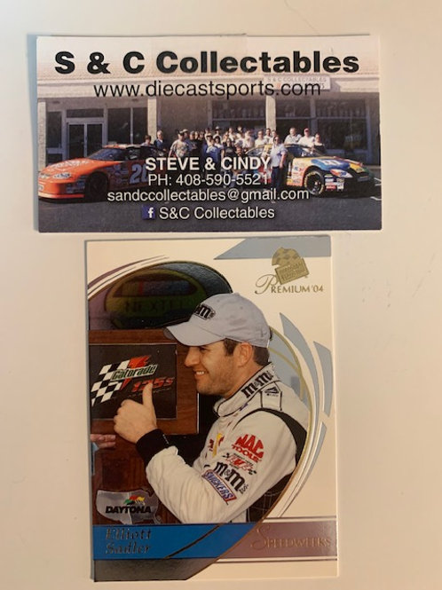 2004 Press Pass Premium M&M's Speed Wek Elliott Sadler / Cards  Box# FF
