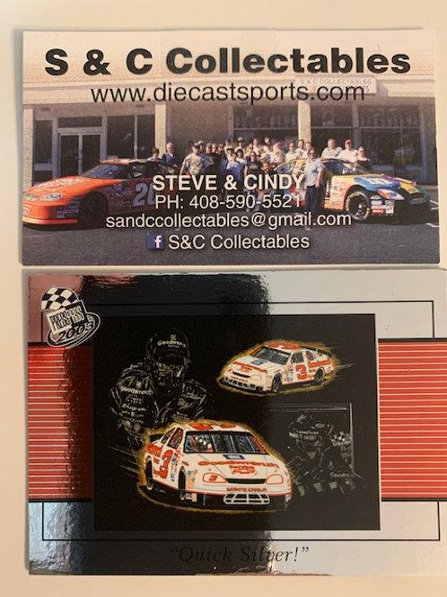 """2003 Gallery  Press Pass """"Quick Silver""""/ Dale Earnhardt Sr.  Box# FF"""