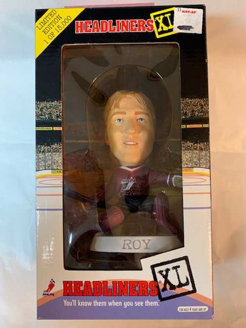 1998 Headlingers XL Patrick Roy  Goalie  / Shelf