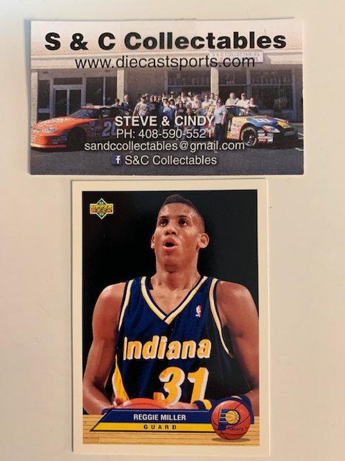 1992-93  Upper Deck Reggie Miller Guard Card# P18  / Basketball--BK1