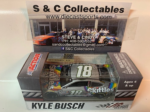2020 Skittles Zombies / Kyle Busch 1:64