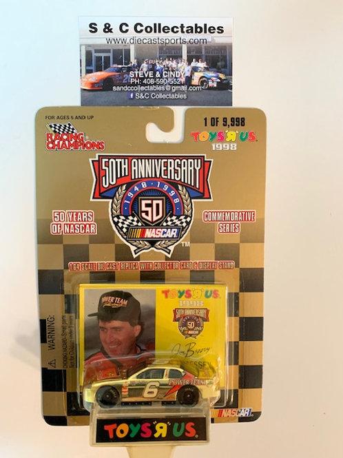 1998 Power Team Toy's R Us Gold Car / Joe Bessey 1:64  Box# 42