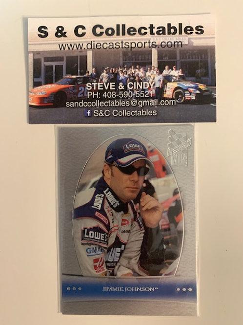 2003 Press Pass VIP  Card# LX8 /  Jimmie Johnson   Box# FF