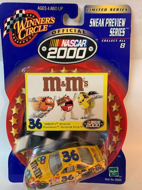 2000 M&M's Sneak Preview  Series / Ken Schrader 1:64 Box#14