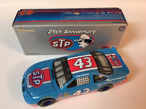 1996 - 1984 STP Blue-Red  25th Anniversary / Bobby Hamilton 1:24 Shelf
