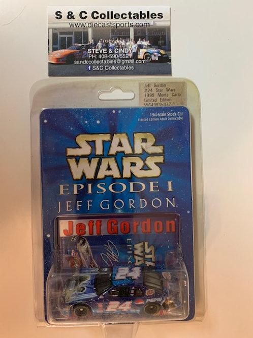 1999 Star Wars Episode 1 / Jeff Gordon 1:64  Box# DDD